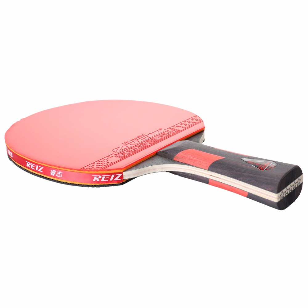 REIZ Short or Long Handle Shake hand Table Tennis Set Ping Pong Paddle Table Tennis Racket 5 star with Case Red and Black 1PCS-in Table Tennis Rackets from ...  sc 1 st  AliExpress.com & REIZ Short or Long Handle Shake hand Table Tennis Set Ping Pong ...