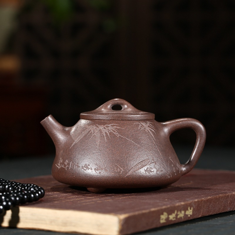 famous all hand son smelting stone gourd ladle pot of kung fu tea set one hand goods source wechat business agentfamous all hand son smelting stone gourd ladle pot of kung fu tea set one hand goods source wechat business agent