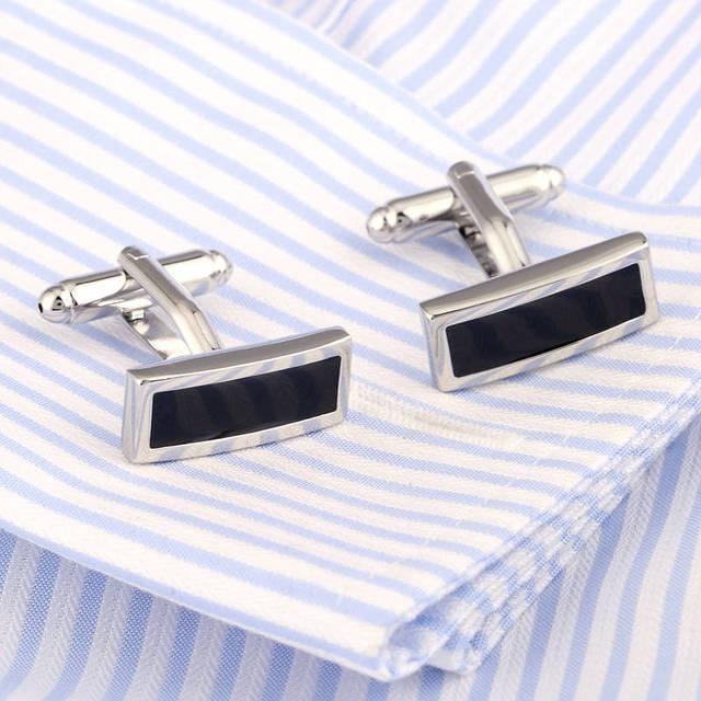 Vagula Enamel French Shirt Cufflinks Brass Cuff Links Excellent Cuffs Gemelos Button Cuff-links 372