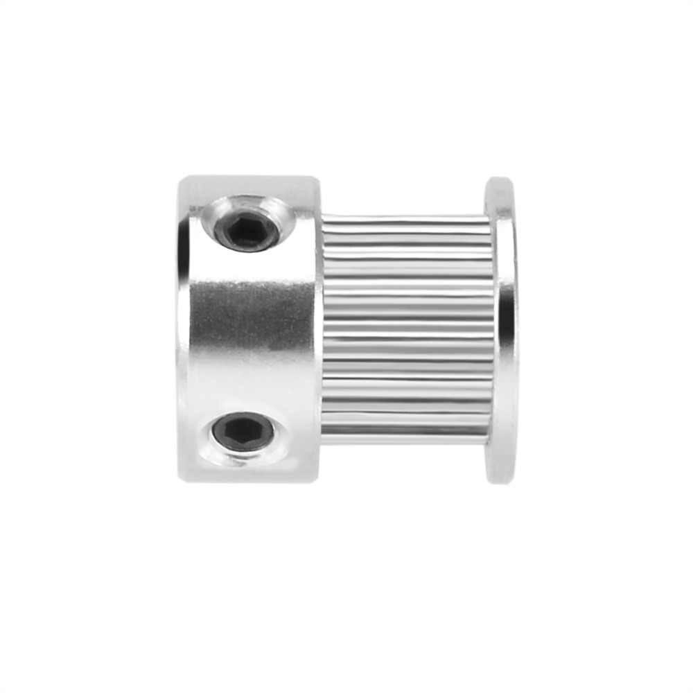 طابعة 3d الألومنيوم gt2 16 الأسنان 5 ملليمتر/6 ملليمتر تتحمل توقيت متزامن عجلة المهمل بكرة ل 6 ملليمتر حزام
