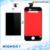 Preto Branco 3.5 Polegada Novo Display LCD Original Com Tela Sensível Ao Toque digitador 1 peça frete grátis para iphone 4 4g testado 100%