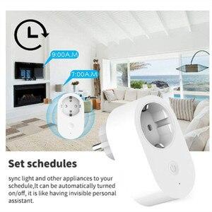 Image 2 - Xiaomi Mijia EU Stecker Smart Buchse Fernbedienung Zeit Schalter Intelligente Speicher Power saving Arbeitet mit Alexa/Google assistent