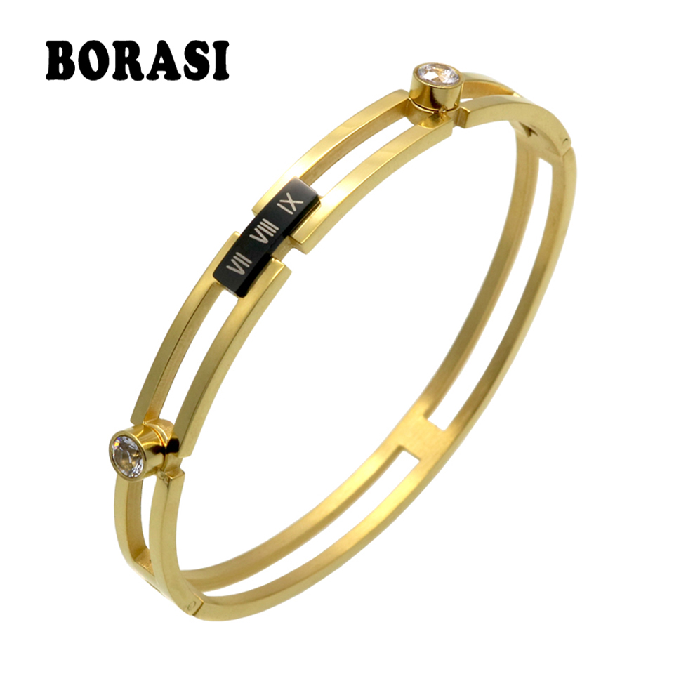 image elegant plated gold logicase product cubic bracelet products zircon