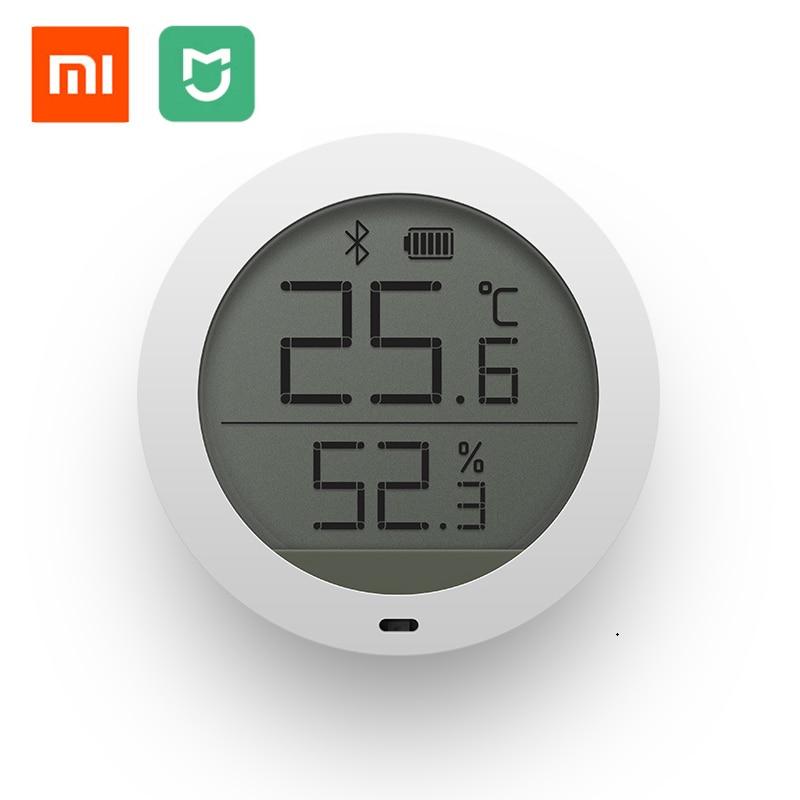 Original Xiaomi Mijia Bluetooth Temperature Humidity Sensor LCD Screen Digital Thermometer Meter Smart Mi Home APP цена 2017