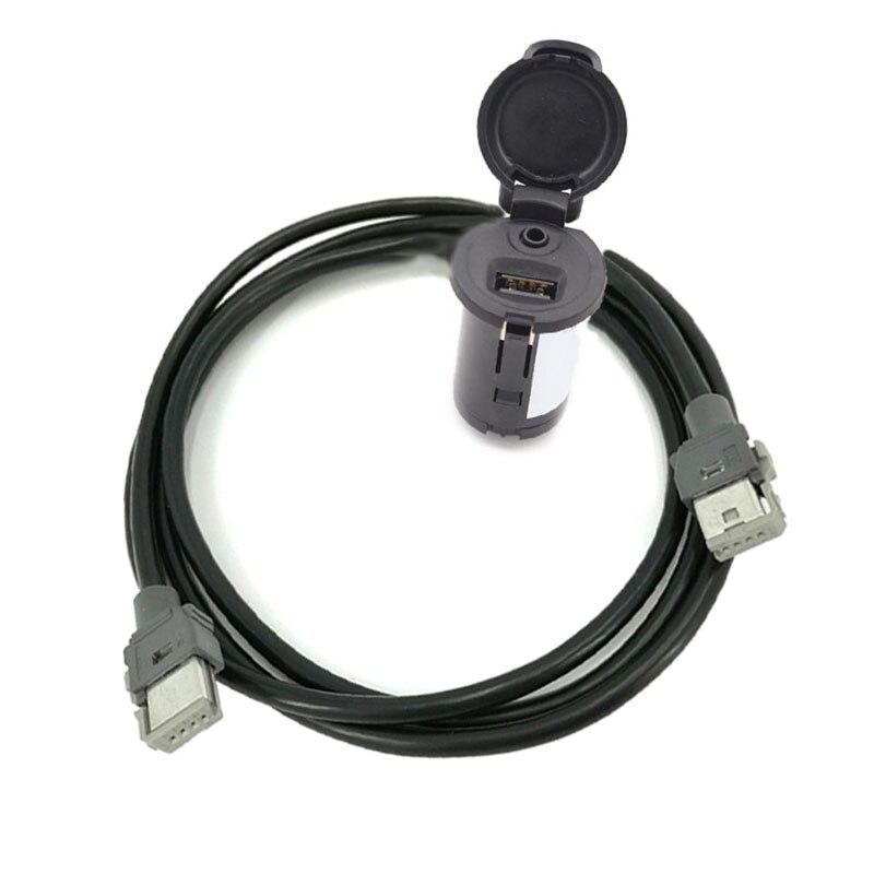 Biurlink RD43 RD45 USB Panneau USB/AUX Commutateur Câble Adaptateur Pour Peugeot 307 407 308 408 508 3008