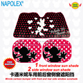Cartoon minnie mouse front window sunshade Foils Windshield Visor Cover UV Protect Car Film sun shade freeshipping