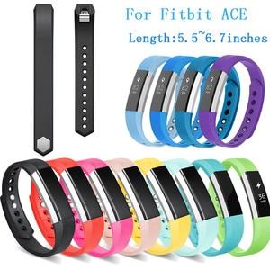 Image 1 - Hiperdeal Neue TPU Sport Ersatz Band für Fitbit Ace Ultradünne Armbänder 5,5 6,7 zoll 140 170mm Dropshipping kann 23