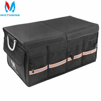 MICTUNING Car Trunk Super Strong Organizer Waterproof Collapsible & Portable Cargo Storage Box For Car SUV Jeep Trucks Box / Bag - Category 🛒 Automobiles & Motorcycles