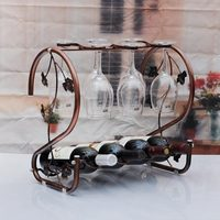 Wine rack creative wine holder wine bottle goblet rack shelf wine rack home