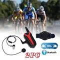 2017 ¡ Nuevo! 2 unids X3 Más Impermeable Bicicleta de La Motocicleta del Casco de Bluetooth Headset Intercom 3 KM Grupo walkie talkie PTT Control