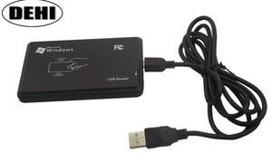 Image 3 - 10 ピース/ロット高品質 13.56 mhz RFID IC カードタグリーダー (読み取り専用) USB 2.0