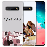 galaxy note Friends TV Show Case for Samsung Galaxy S10 5G S10e S9 S8 M30 M20 M10 J4 J6 Plus J8 2018 Note 8 9 Clear Hard PC Phone Cover Capa (5)