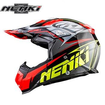 NENKI-Casco para Motocross MX, cascos todoterreno de Enduro para motocicleta, Dirt Bike...