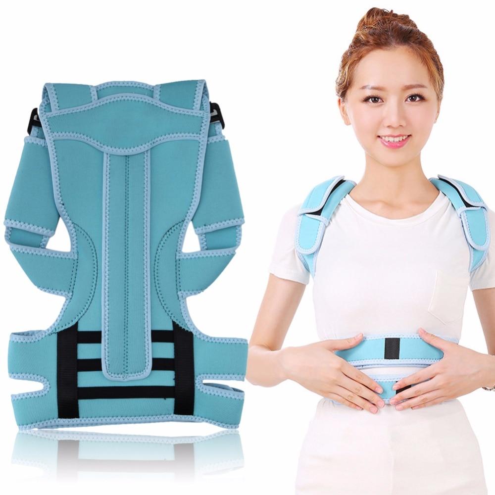 Professional Adult Back Posture Brace Corrector Shoulder Support Band Belt Posture Correct Belt for Health Care free size o x form legs posture corrector belt braces