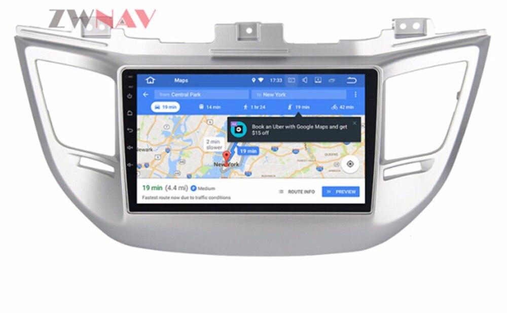 8 Inch Android 8.0 RAM 4GB RAM 32GB Car GPS Navigation DVD Player Auto Stereo Head Unit for Hyundai Tucson 2014 2015 2016 2017