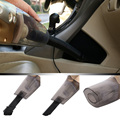 Car Accessories 4 in 1 Handheld Wet-Dry Car Vacuum Cleaner with Tire Inflator Tire Pressure Gauge Led Lighting 12V 100W