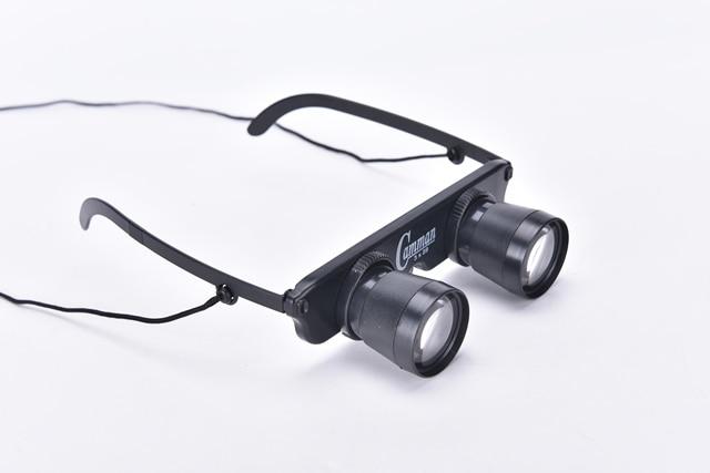 Eye lens diameter magnifier glasses style outdoor fishing optics