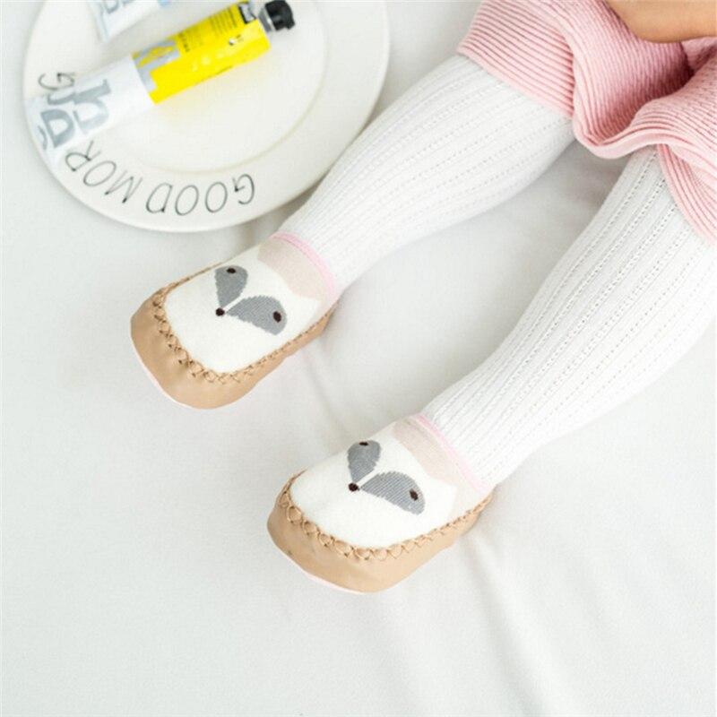 Non-slip Children Baby Socks Cartoon Floor Kids Shoes Cotton Soft Think Socks Canvas Sneaker Unisex Infact Sock for Boys Girls