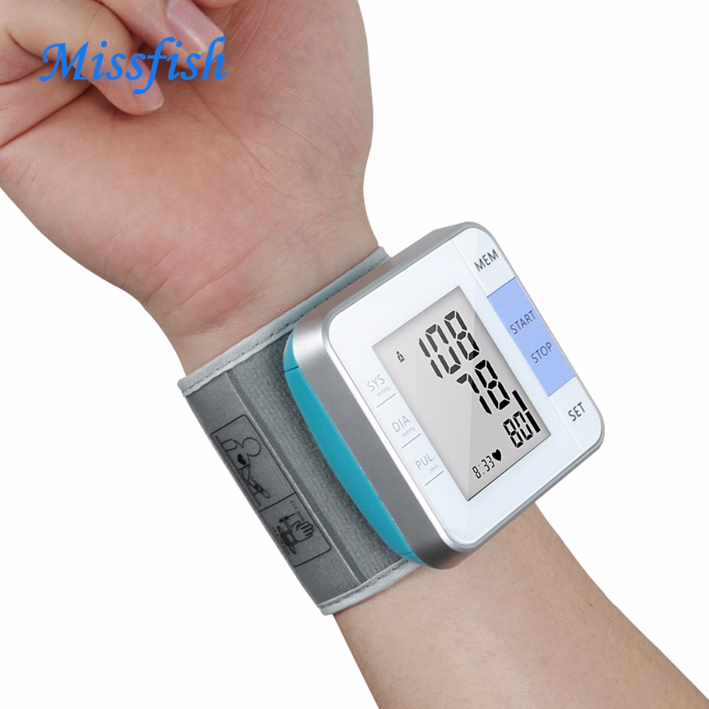 Missfish tensiometer for home healthcare medical equipment wrist digital blood pressure  ...