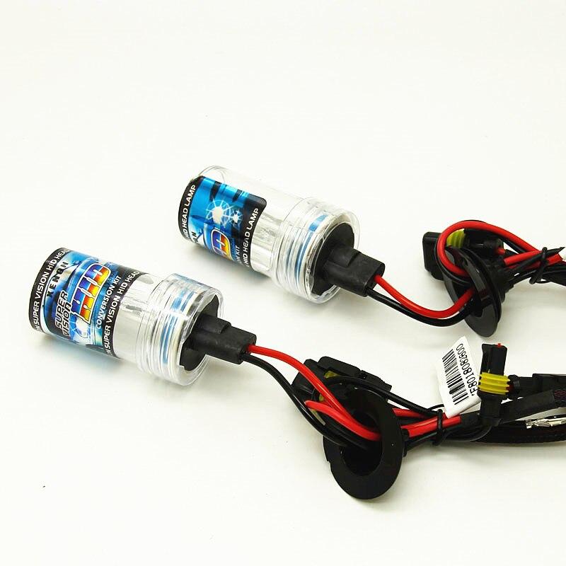 2pcs Hid Lamp 35W H11 H7 H3 H1 9005 9006 HB3 HB4 Auto 12v Xenon Headlight Lamp 6000k 8000k 10000k