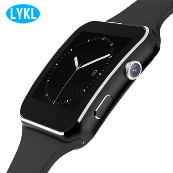 X6 Smart Watch with Camera Touch Screen Support SIM TF Card Bluetooth Smartwatch sleep monitor for iPhone Xiaomi Android Phone