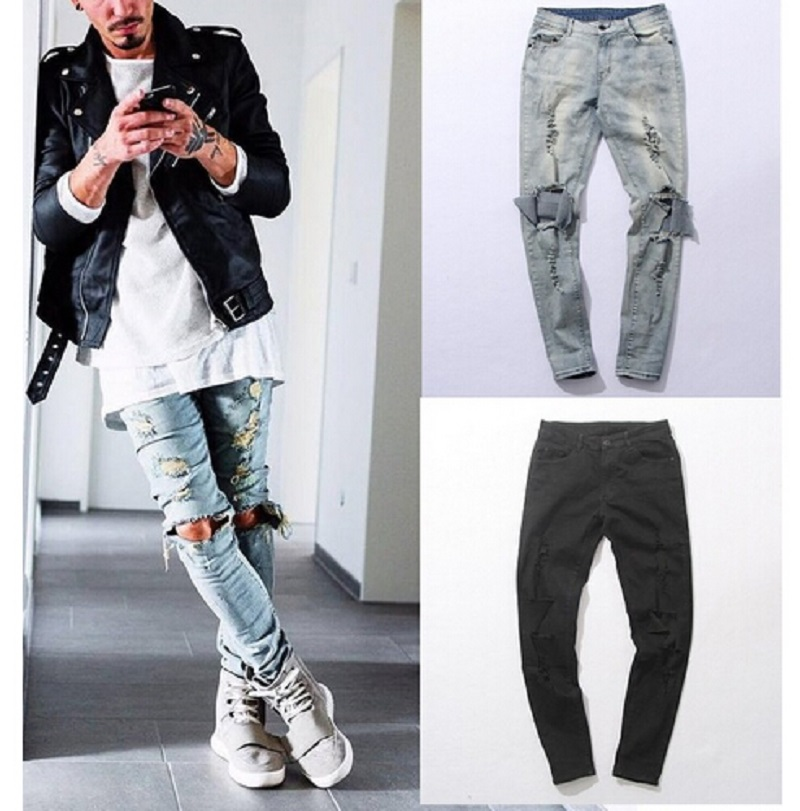 Mens Jeans Holes Promotion-Shop for Promotional Mens Jeans Holes