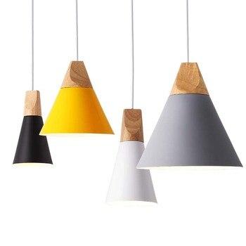 Luminaires à suspension aux couleurs modernes 1