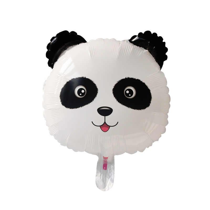 การ์ตูน Panda ตกแต่งเด็กสัตว์ป่าวันเกิดชุดไม้ไผ่กระดาษถ้วยผ้าปูโต๊ะตกแต่งฝักบัวเด็ก