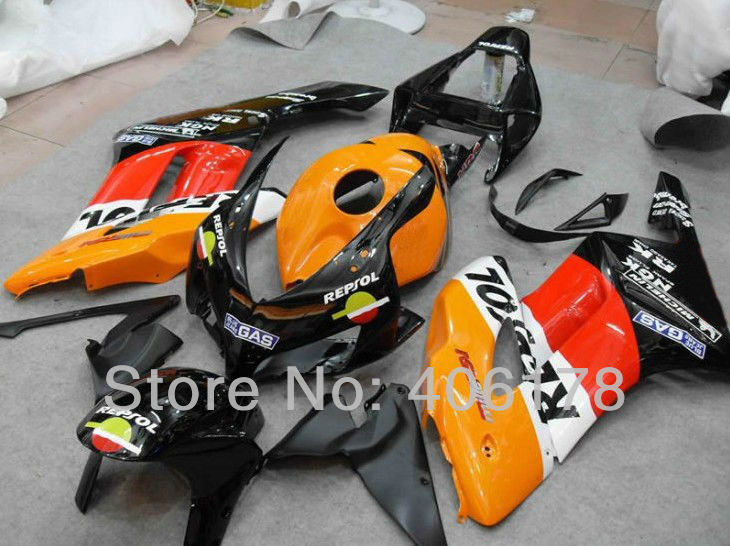 Hot Sales,CBR 1000 RR 04 05 Bodywork Fairing Kit For Honda CBR1000RR 2004-2005 REPSOL Motorcycle Fairings (Injection molding) ipl lamp 7 60 120mm best quality ncrieo ipl xenon lamp e light xenon bulb with wire