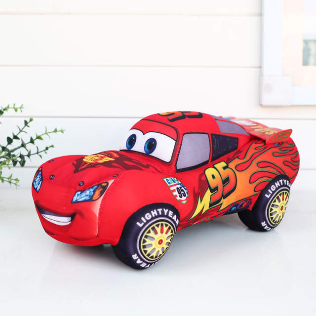 Us 4 29 14 Off Disney Pixar Cars 3 Kids Toys 17cm Lightning Mcqueen Plush Toys Cute Cartoon Cars Plush Toys Best Gifts For Childrens In Movies Tv