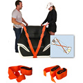 1Pair Nylon Carrying Furniture Straps  Forearm Forklift Moving and Lifting Straps from Move Rope Belt for Lifting Furniture