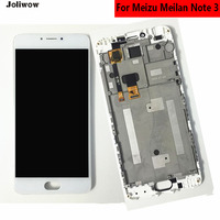 For Meizu M3 Note Meilan Note 3 M681H LCD Display Touch Screen Frame Digitizer Assembly Replacement