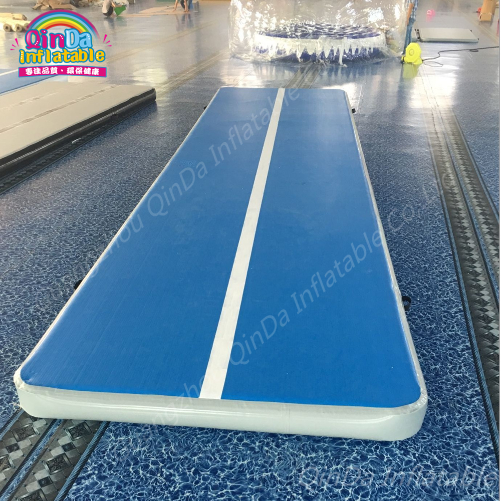 China Fitness Equipment Gymnastics Air Floor Inflatable Gymnastics Mats ,Trainer Tumble Track Inflatable Air Track For Sale free shipping 6 2m inflatable gym air track inflatable air track gymnastics
