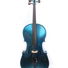 Электрический Виолончель 4/4 5 струнная акустическая Виолончель Хороший звук клен ель дерево черное дерево Фитинги# EC1