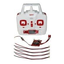 SYMA X8HG X8HW X8HC Placa de Circuito de Control Remoto y Receptor RC Quadcopter Helicóptero Drone Accesorios Repuestos