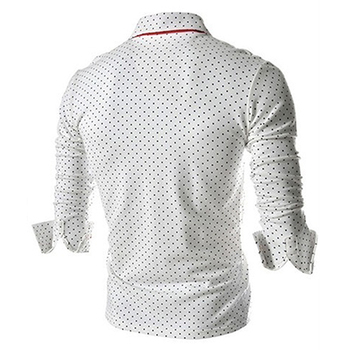 Men Trendy Long Sleeved Shirt 1