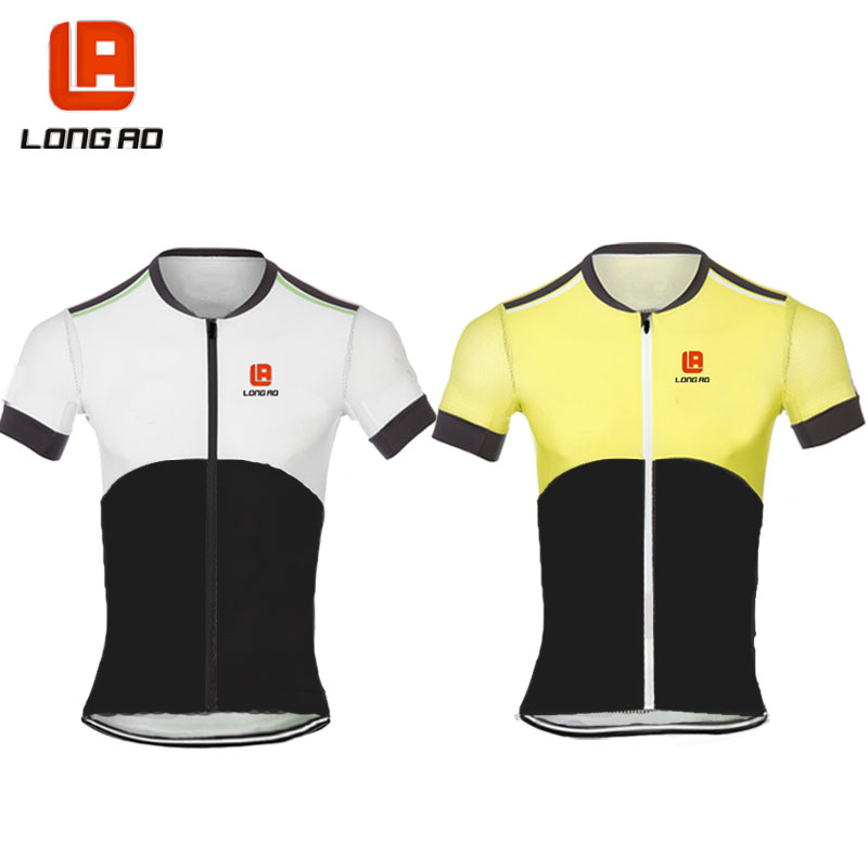 Cycling Jersey Quick Dry Anti-sweat Short Sleeve Autumn Spring Summer Clothing Bicicleta MTB Maillot Ropa Ciclismo Hombre LA148