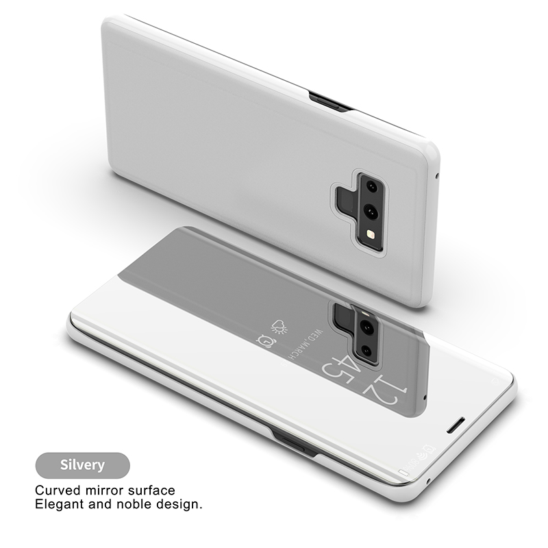 KEFO Luxury Clear View Mirror Smart Case For Samsung Galaxy Note 9 Flip Stand Case For Samsung Galaxy Note9 Note9 Cover Coque    (1)