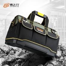 Saco de ferramentas dobrável bolsa de ombro bolsa ferramenta organizador saco de armazenamento