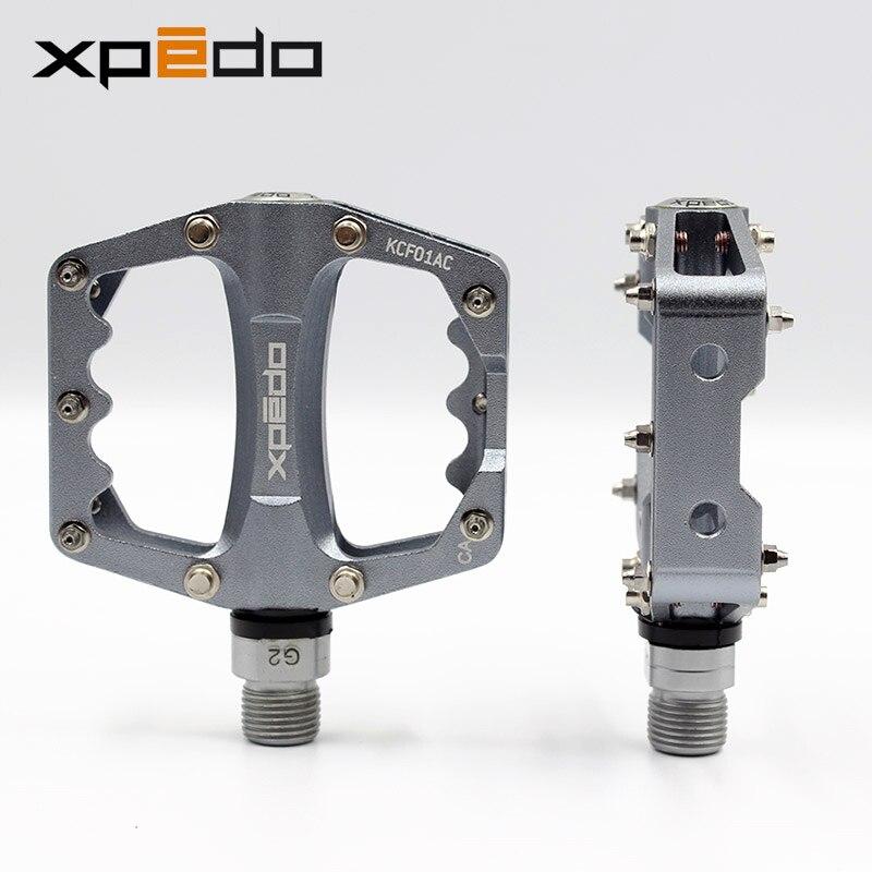 Pédales de vélo ultralégères Wellgo Xpedo KCF01AC vélo de route en alliage d'aluminium VTT pédale de roulement