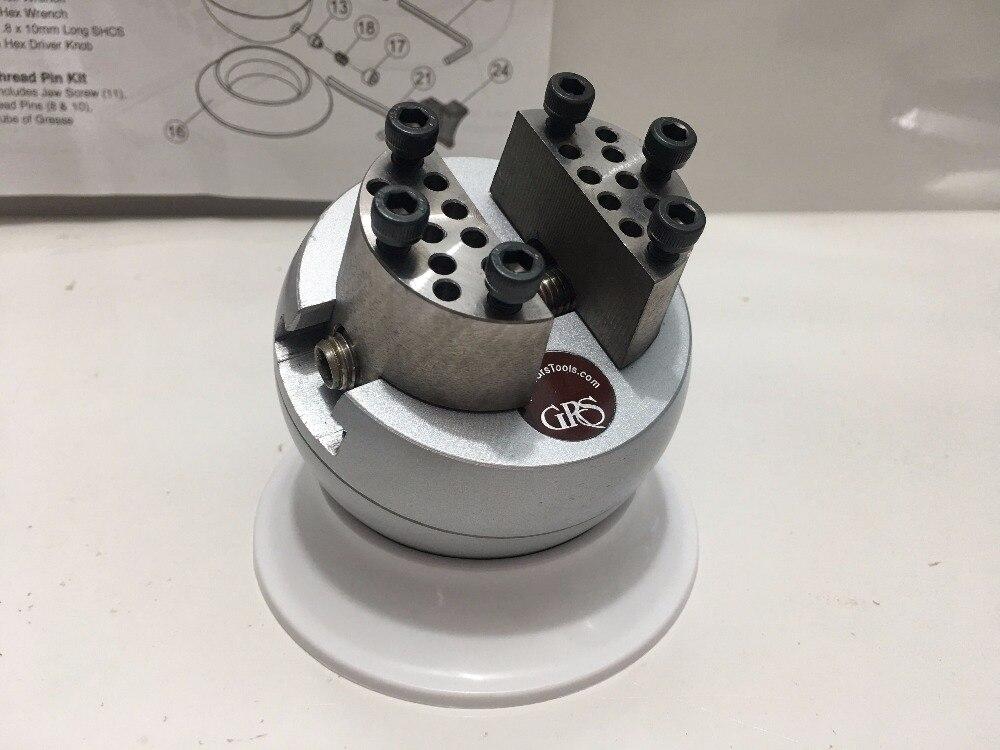 GRS Standard Block Ball Vise Jewelry Making tools gemstone setting Engraving Ball
