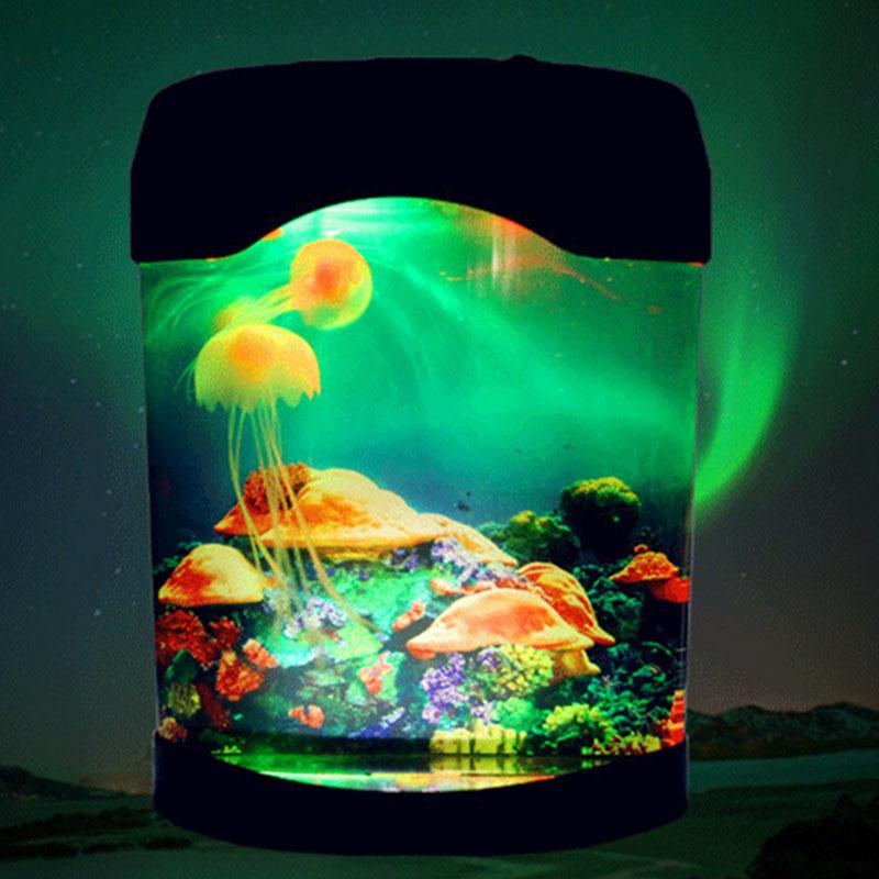 LED Synthetic Jellyfish Novelty Lighting Aquarium Home Christmas Festival Decoration
