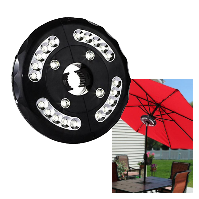 20+4 LED Umbrella Light Detachable Roman Light Multi function high Camping Light tent Light
