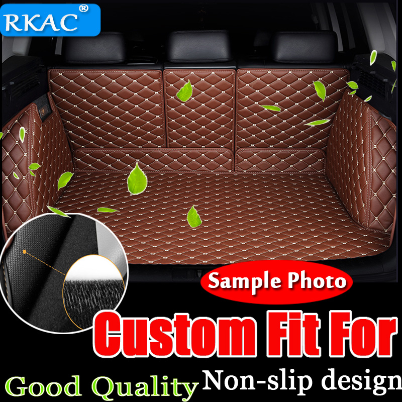 PROTECTIVE RUBBER BOOT MATS TO FIT Volvo S80 MODELS UNIVERSAL BOOT MAT