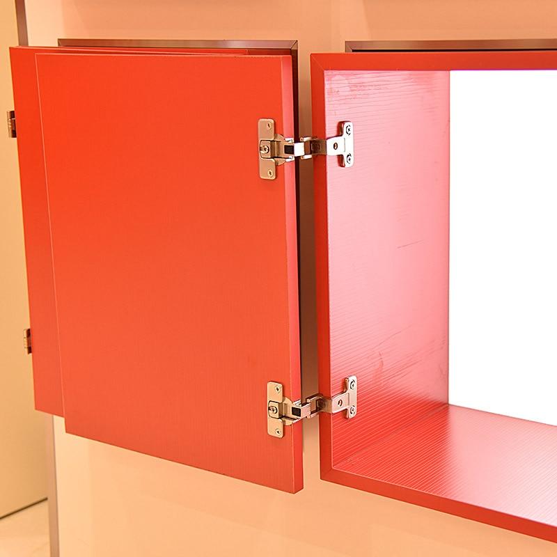 270 Degree Hinge Full Open Large Angle Cabinet Wardrobe Thickening Folding Furniture Door Hinges Zinc Alloy Fixed and Shift 1PCS