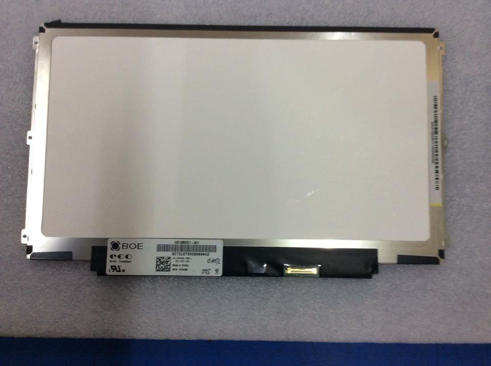 HB125WX1-201 HB125WX1-100 12.5 WXGA eDP 30 pin Left+right 3 screw holes LED LCD Screen Display Panel