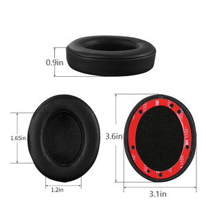 Image 2 - Wantek Beats Replacement Ear Pads Cushion Compatible with Beats Studio2 and Studio3/Wired B0500/Wireless B0501 Headphones, Black