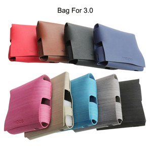 Image 1 - Fashion 8 Colors for iqos 3.0 Case Pouch Bag Protective Holder Cover Wallet Case for iqos 3 PU Leather Case