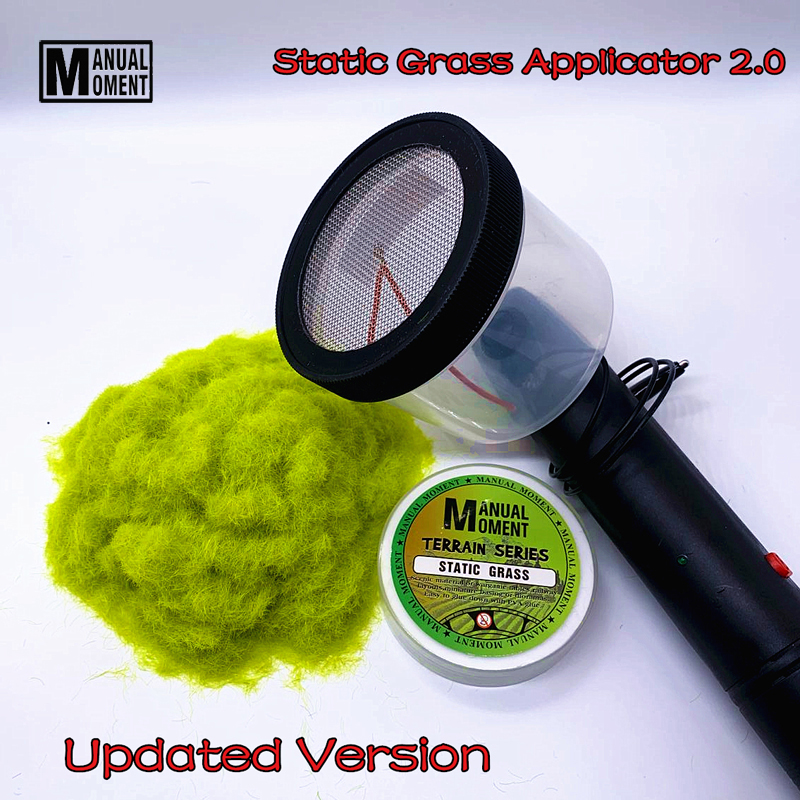 Miniature Scene Model Materia Flocking Static Grass Applicator 2.0 Modeling Hobby Craft  Accessory
