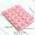 20 Células de Silicona Piruleta Lolly Pop Molde Corazón Estrella En Forma de Bola molde de Pastel de Chocolate Para Hornear Molde Con Palo de Helado de BRICOLAJE Herramientas